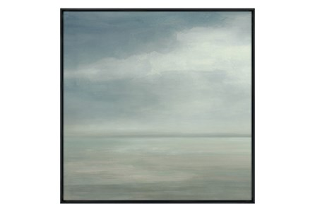Picture-36X36 Seaside I Glass Framed