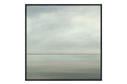 Picture-36X36 Seaside II Glass Framed - Main