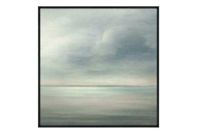Picture-36X36 Seaside III Glass Framed - 360