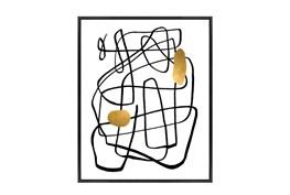 Picture-24X30 Golden Drop II Canvas Print