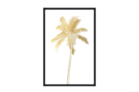 Picture-30X45 Giant Palm I Glass Framed - Main