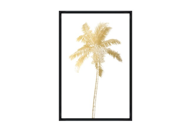 Picture-30X45 Giant Palm I Glass Framed - 360