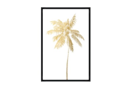 Picture-30X45 Giant Palm II Glass Framed - Main