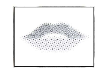 Picture-40X30 Lippy Lips Canvas Print - Main