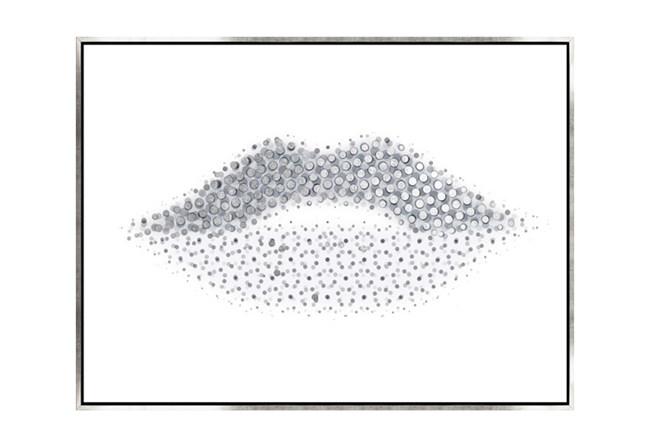 Picture-40X30 Lippy Lips Canvas Print - 360