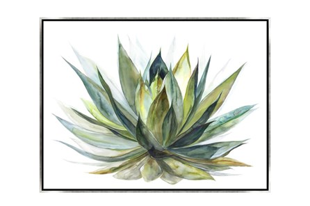 Picture-40X30 Blooming Verde Canvas Print - Main