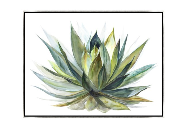 Picture-40X30 Blooming Verde Canvas Print - 360