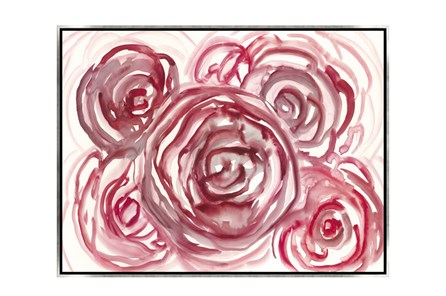 Picture-32X24 Spring Rosette Canvas Print - Main