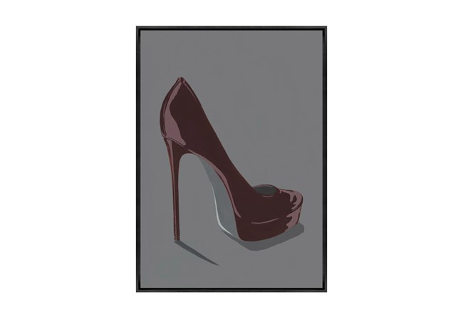Picture-24X34 Totter On High Heels II Canvas Print - 360