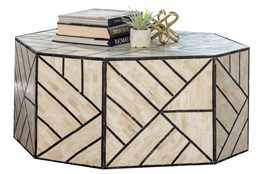 Geometric Inlay Coffee Table