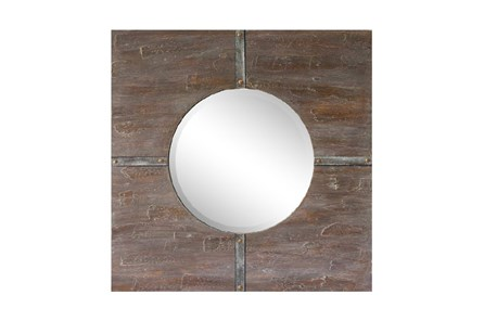 Colored Wood Framed Mirror - Main