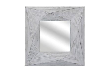 White Wash Mirror - Main