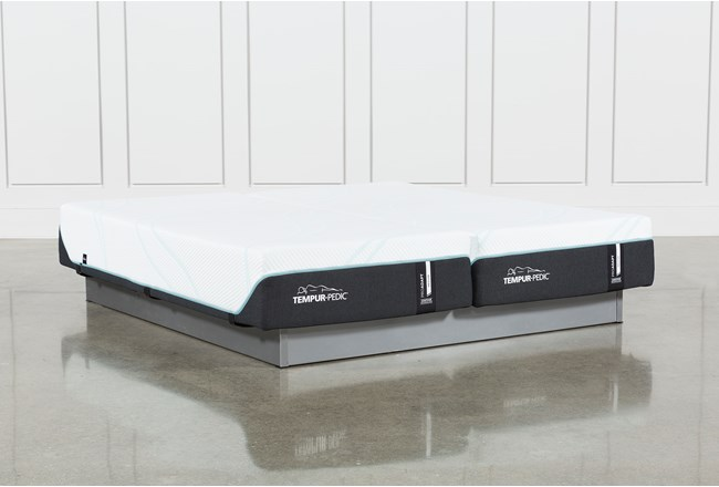 Tempur-Pro Adapt Medium California King Split Mattress Set - 360