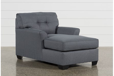 Jacoby Gunmetal Chaise