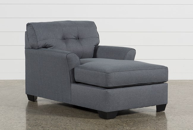Jacoby Gunmetal Chaise - 360