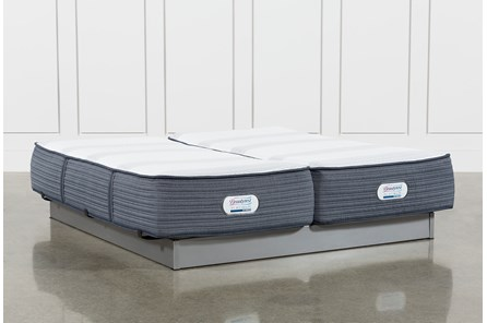 Brayton Plush California King Split Mattress Set - Main