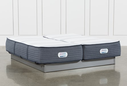 Brayton Medium California King Split Mattress Set