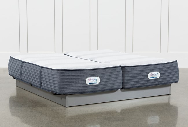 Brayton Medium California King Split Mattress Set - 360