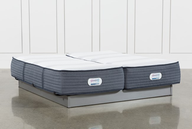 Brayton Firm California King Split Mattress Set - 360
