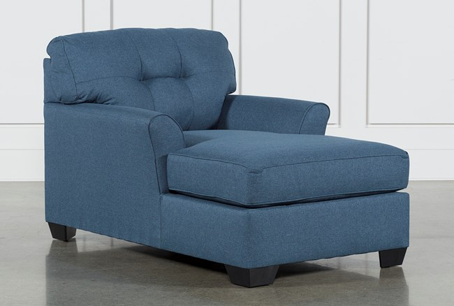 Jacoby Denim Chaise - 360