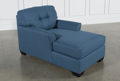 Miraculous Jacoby Denim Chaise Gmtry Best Dining Table And Chair Ideas Images Gmtryco
