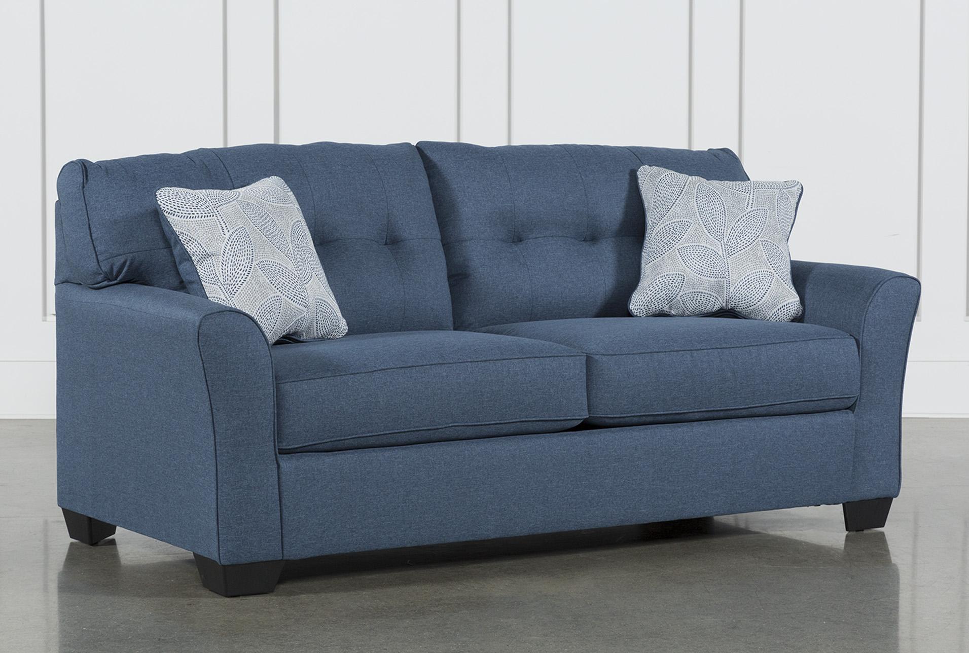 - Jacoby Denim Full Sofa Sleeper Living Spaces