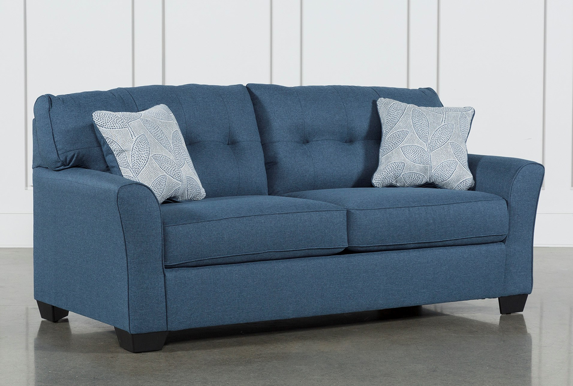 Tilt Sofa Bed Light Blue