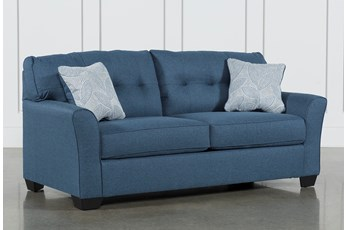 "Jacoby Denim 78"" Full Sofa Sleeper"