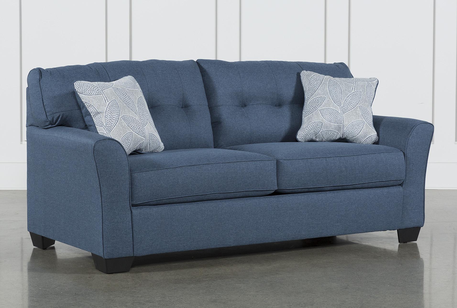 jacoby denim sofa living spaces rh livingspaces com blue denim sofas for sale blue denim sofa bed