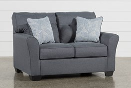 Jacoby Gunmetal Loveseat