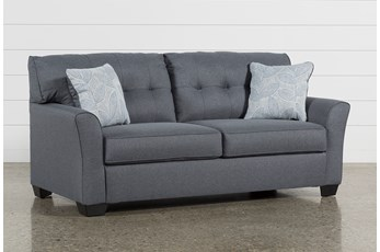 "Jacoby Gunmetal 78"" Full Sofa Sleeper"