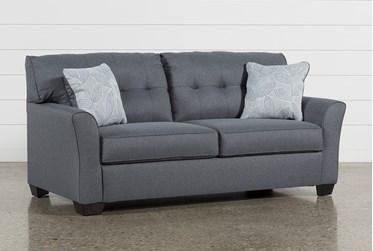 "Jacoby Gunmetal 78"" Full Sofa Sleeper"