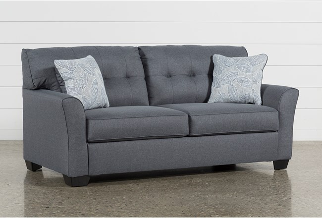 Jacoby Gunmetal Full Sofa Sleeper Living Spaces