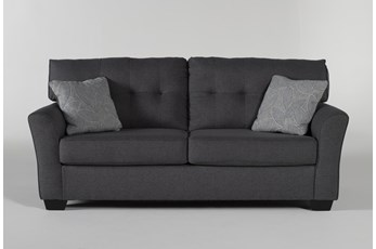 "Jacoby Gunmetal 78"" Sofa"