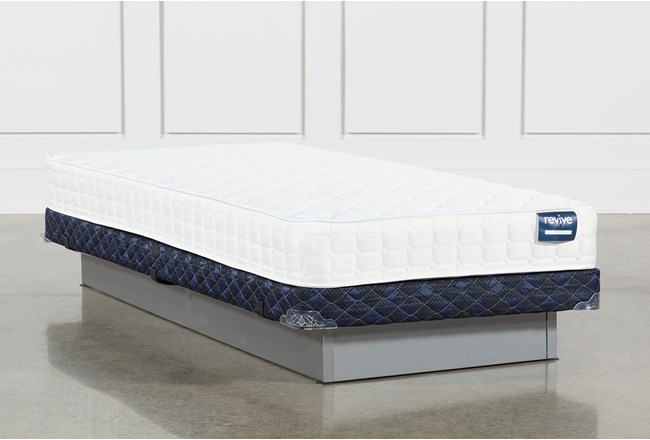 Kit-Revive Series 2 Twin Mattress With Low Profile Foundation - 360
