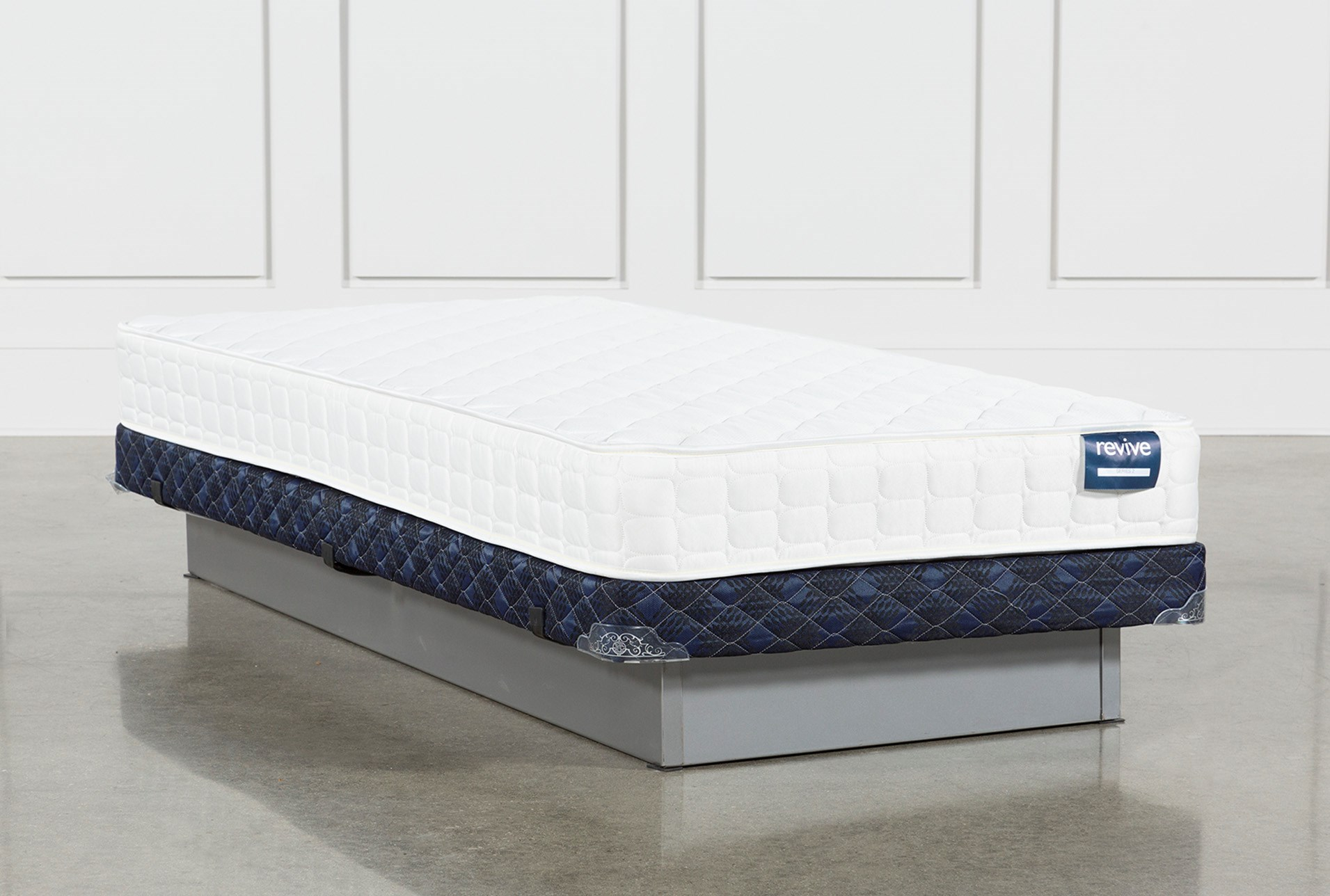 Series 2 Twin Xl Mattress With Low Profile Foundation | Living Spaces