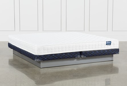 Series 2 Cal King Mattress With Low Profile Foundation