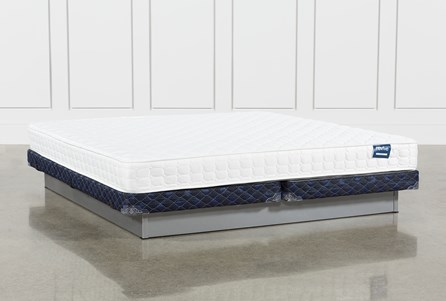 Series 2 Eastern King Mattress With Low Profile Foundation