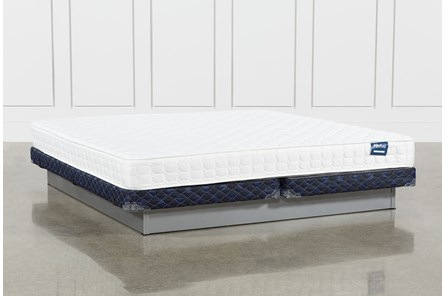 Series 2 Eastern King Mattress With Low Profile Foundation - Main