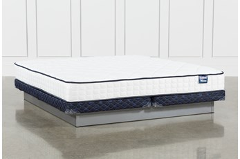 Series 3 Eastern King Mattress With Low Profile Foundation
