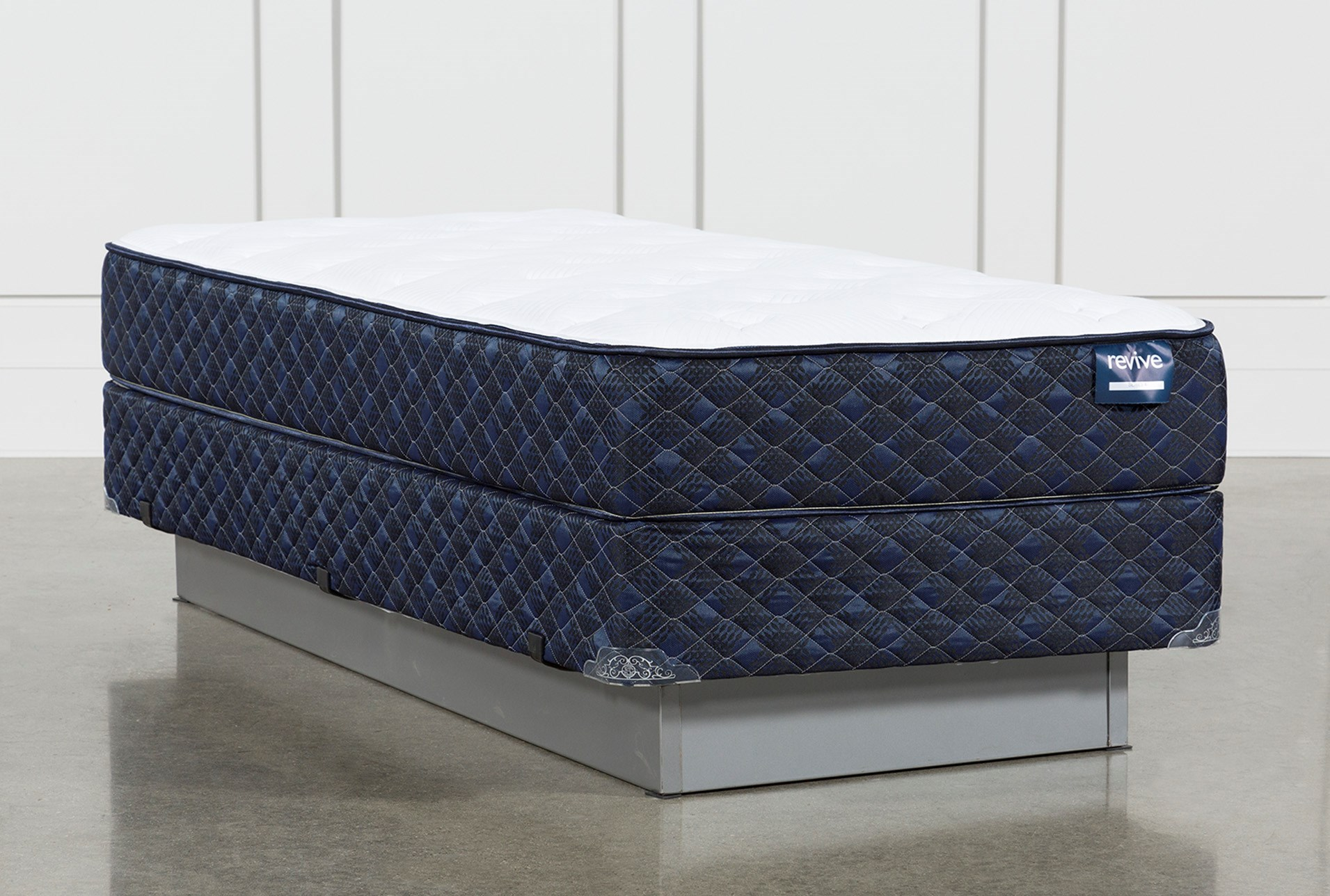 blue twin mattress. Series 4 Twin Mattress With Foundation (Qty: 1) Has Been Successfully Added To Your Cart. Blue L