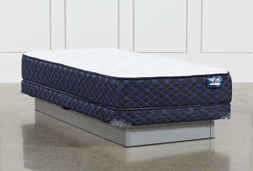 Kit-Revive Series 4 Twin Extra Long Mattress With Low Profile Foundation
