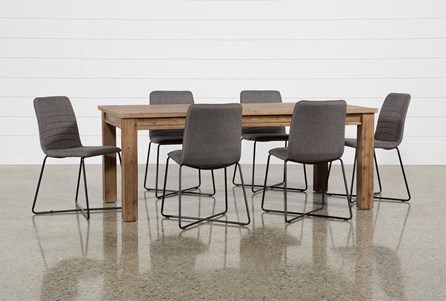 Erickson 7 Piece Dining Set With Gunner Side Chairs