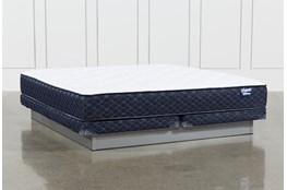 Kit-Revive Series 4 Cal King  Mattress With Low Profile Foundation
