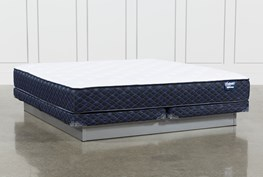 Series 4 Eastern King Mattress With Low Profile Foundation
