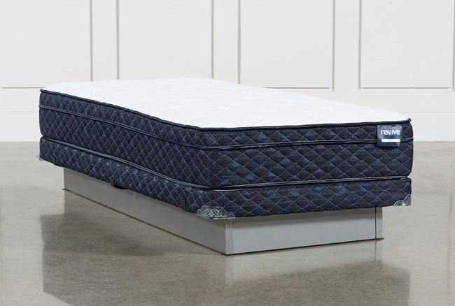Revive Series 5 Twin Extra Long Mattress With Low Profile Foundation - 360