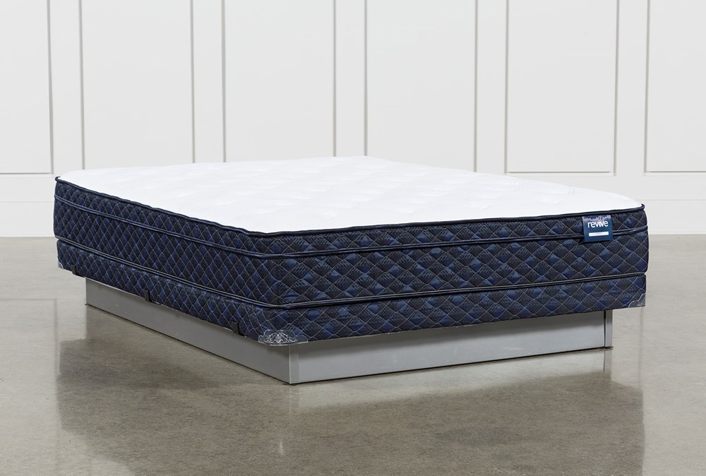 Series 5 Queen Mattress With Low Profile Foundation