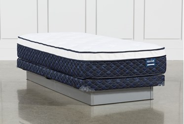 Revive Series 6 Twin Mattress With Low Profile Foundation