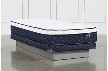 Series 6 Twin Xl Mattress With Low Profile Foundation