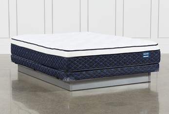 Revive Series 6 Full Mattress With Low Profile Foundation